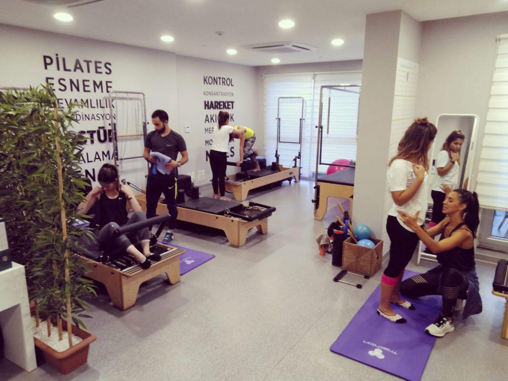 Maslak Aletli Pilates Salonundan Görüntü
